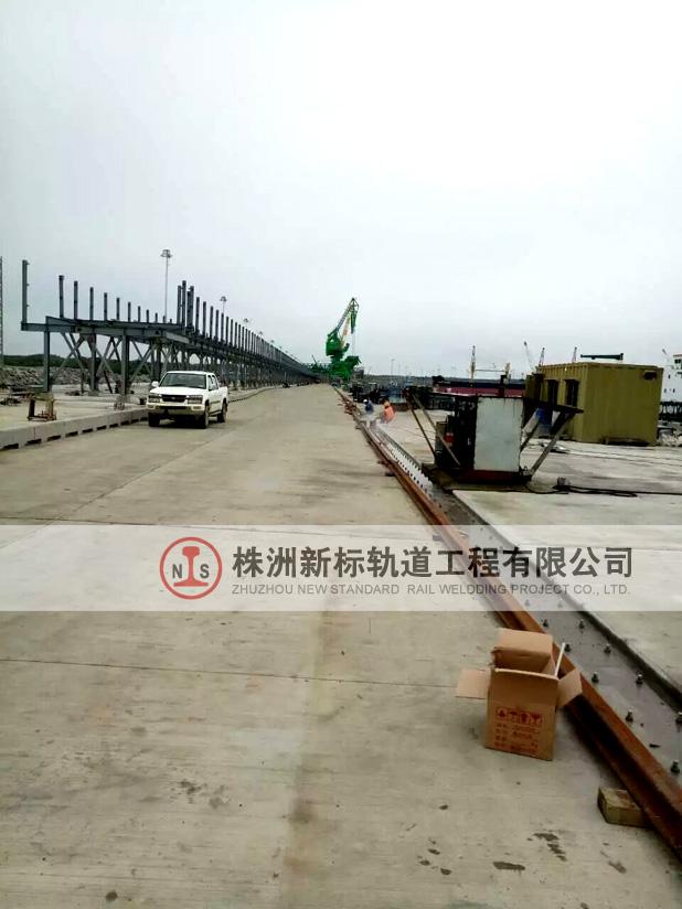 中国港湾马来西亚民都鲁施工现场