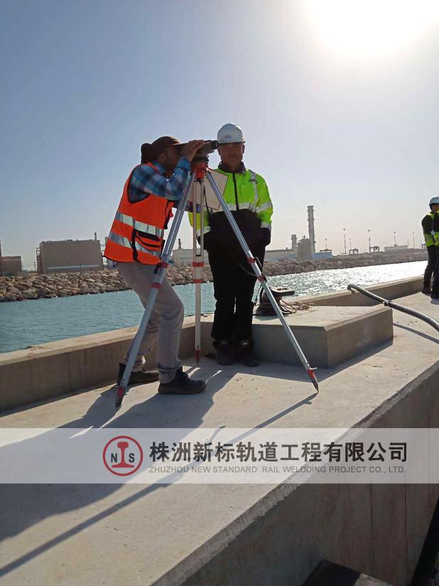 以色列阿什杜德港项目轨道梁预埋之测量