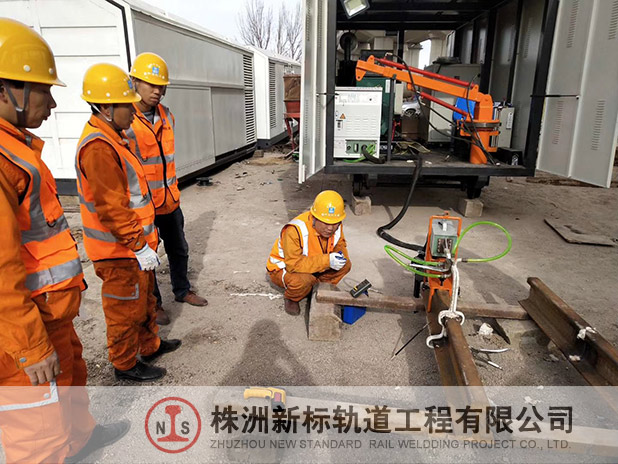 钢轨焊接测试
